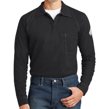 Bulwark iQ Long Sleeve Polo (Apparel)