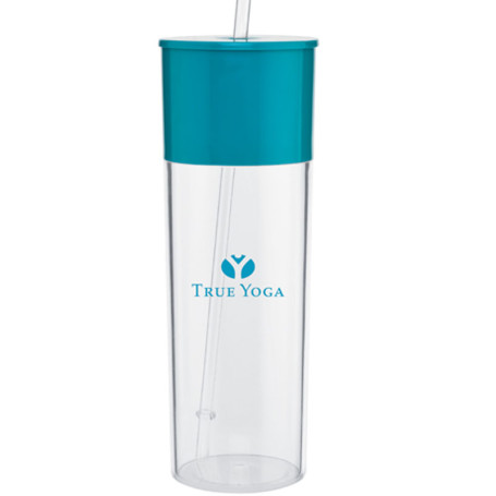22 oz acrylic single wall tumbler