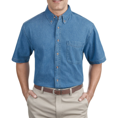Port & Company - Short Sleeve Value Denim Shirt (Apparel)