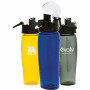 24oz Customizable Groove BPA Free Sports Bottle
