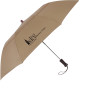 "Promotional 44"" Arc Telescopic Folding Wood Handle Umbrella"