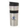 Custom Logo 16 oz. Steel & PP Tumbler