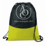 Imprinted PolyPro Non-Woven Cinch Drawstring