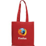 Logo Colored Magazine Economy Tote