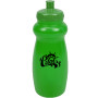 Logo 20 oz. BPA Free Translucent Gripper Bottle