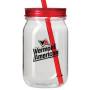 24 oz. Tritan Plastic Mason Jar