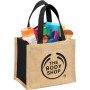 Personalized The Mini Jute Gift Tote