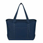 Printed Large Cotton Canvas Yacht Tote
