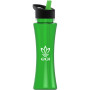 Printed Curve 17 oz. Tritan Bottle - Flip Straw Lid