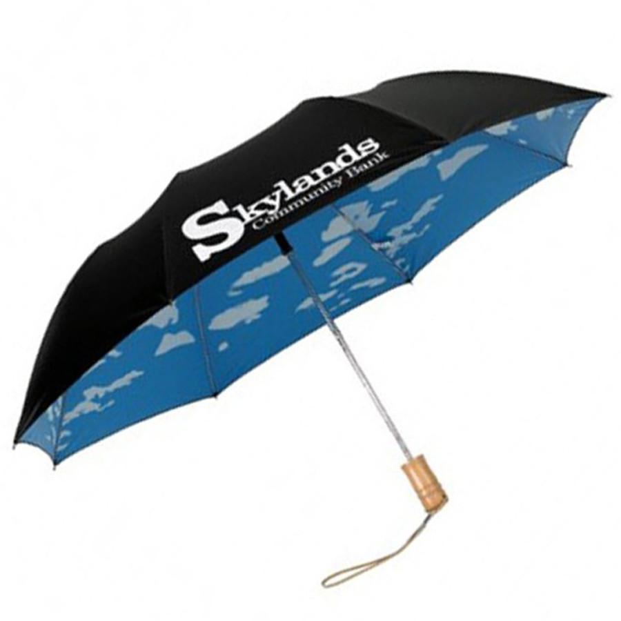 Promo Double Cover Cloud Design Umbrella