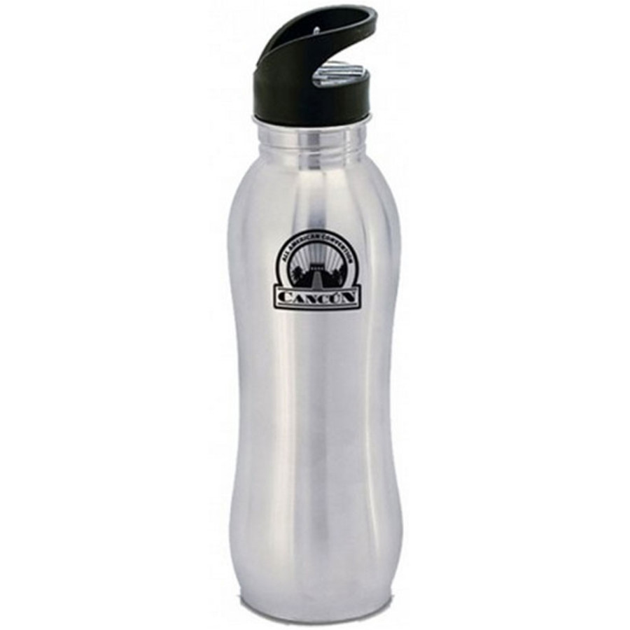 24 oz. Curvy Stainless Steel Bottle