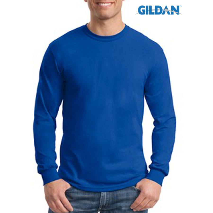 Gildan Ultra Cotton Poly Long Sleve T-Shirt