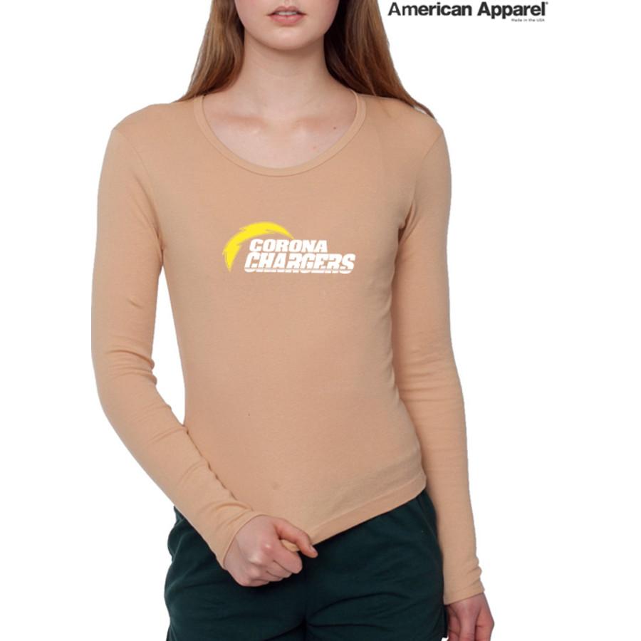 American Apparel 4307 / Baby Rib Long Sleeve Tee