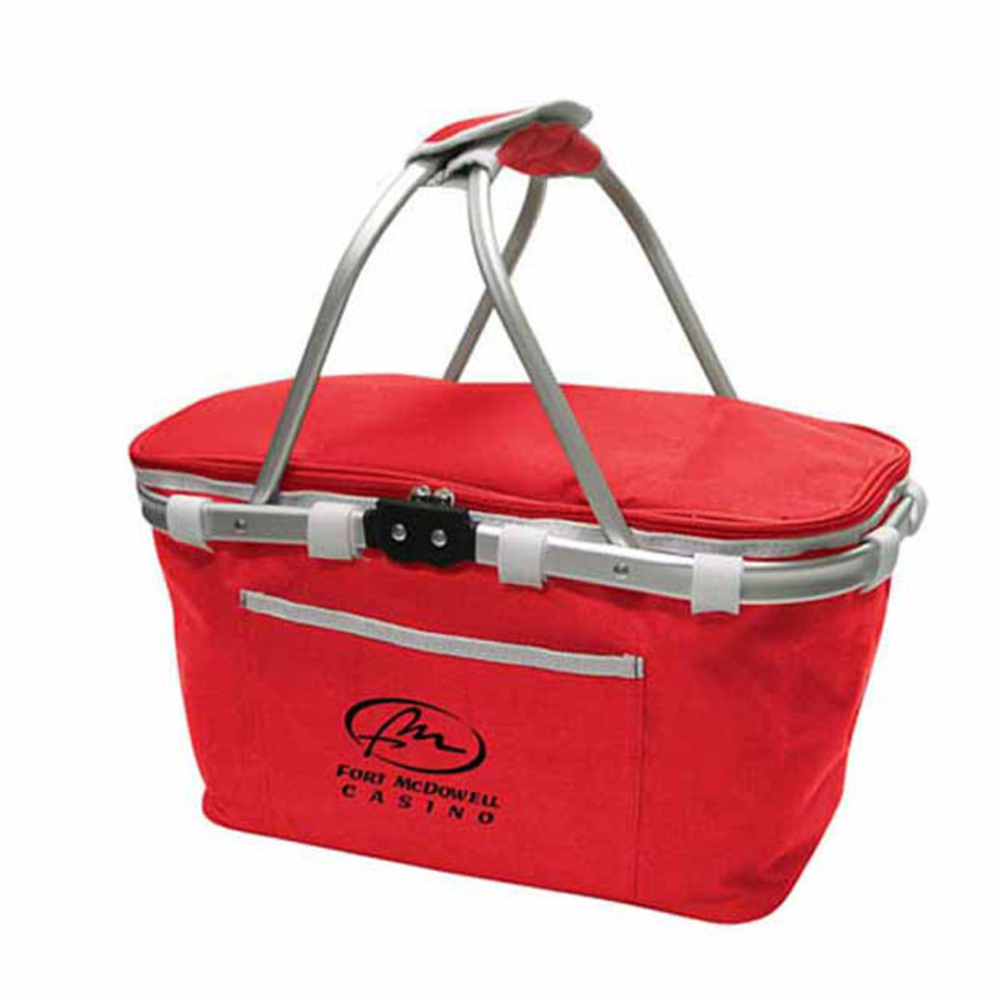 Customizable Collapsible Basket Cooler