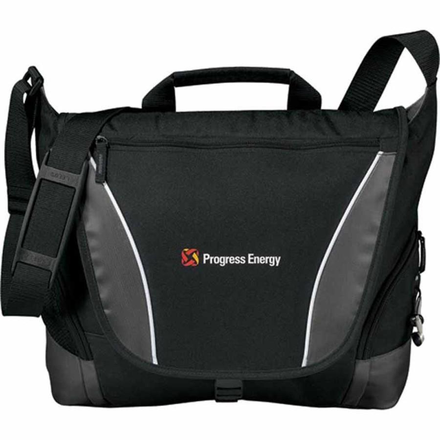 Custom Logo Slant Messenger Bag