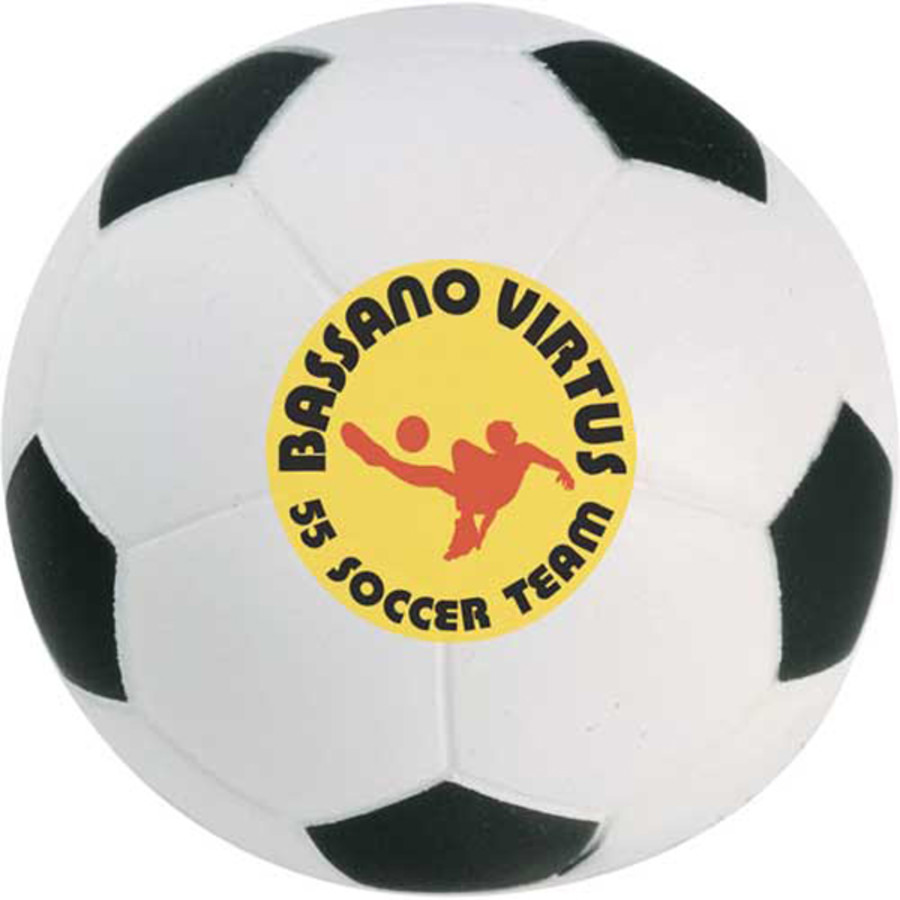 Custom Printed Soccer Ball Stress Reliever