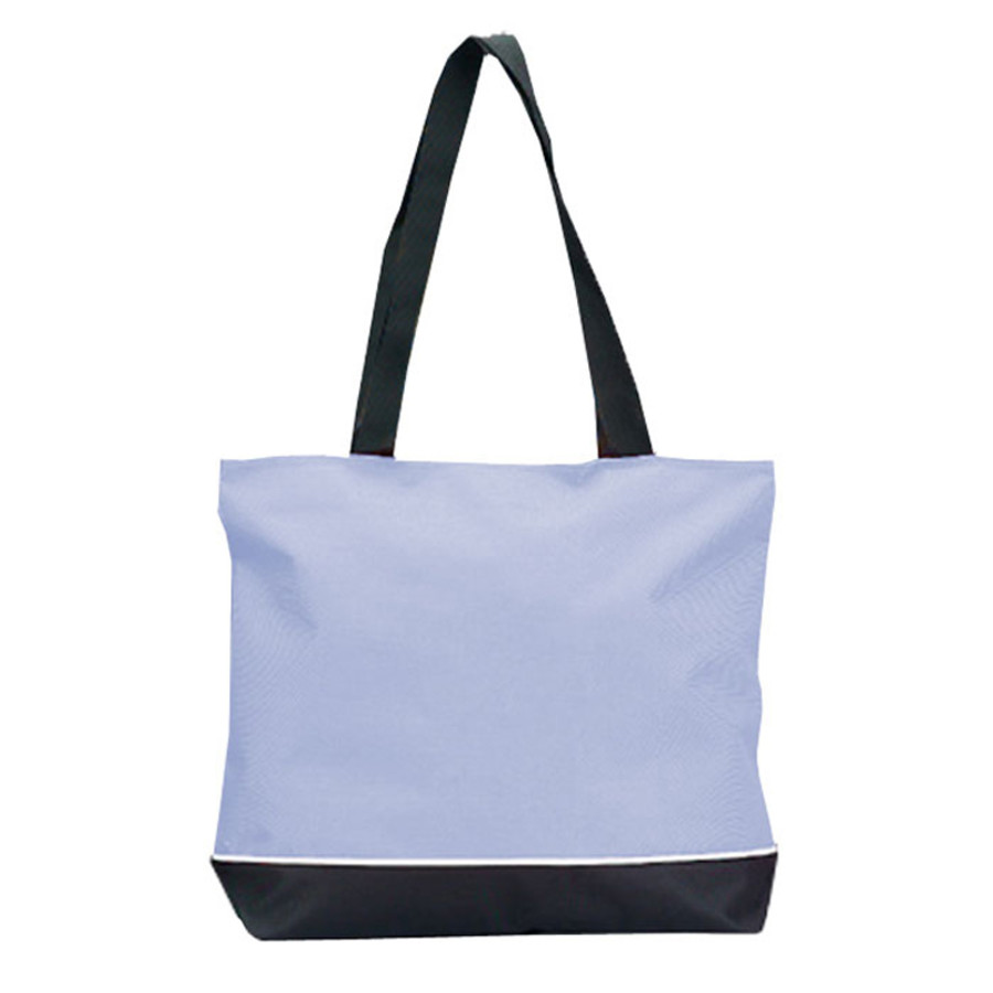 Custom Zipper Shoulder Tote