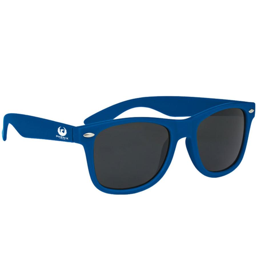 Customizable Soft-Touch Matte Sunglasses