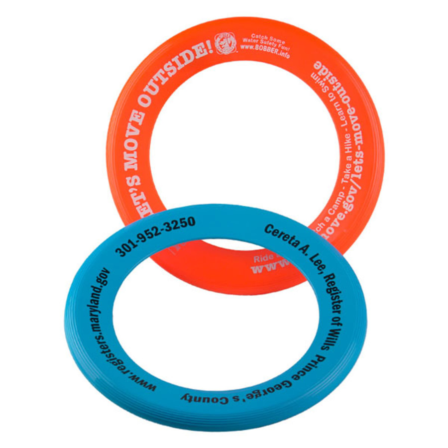 Imprinted Zing Ring Flyer