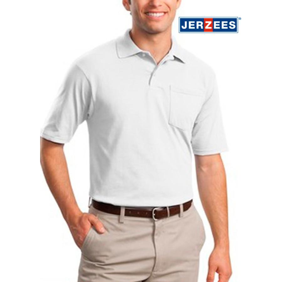 Jerzees SpotShield Jersey Knit Sport Shirt