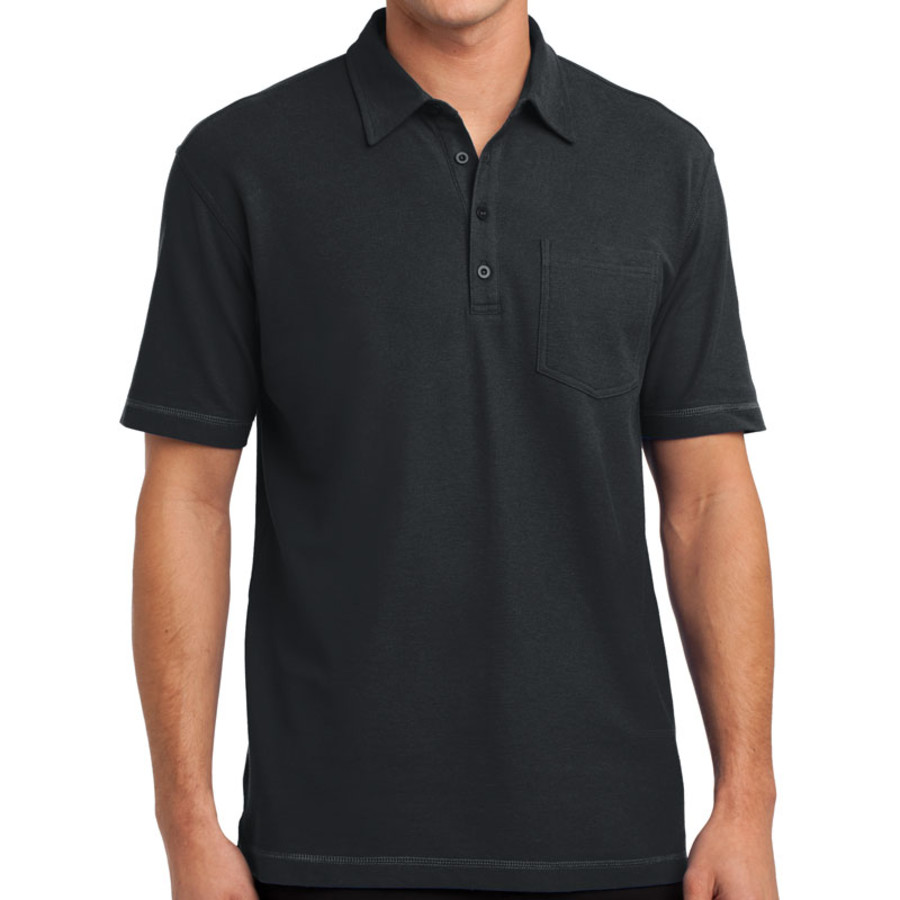 Port Authority Modern Stain-Resistant Pocket Polo (Apparel)