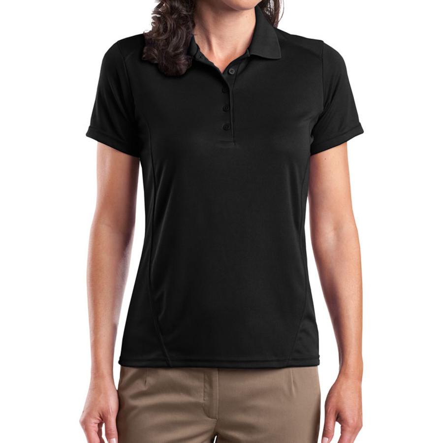 Sport-Tek Ladies Dry Zone Raglan Accent Polo