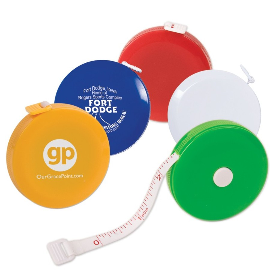 Logo 5 Ft. Round Tape Measure