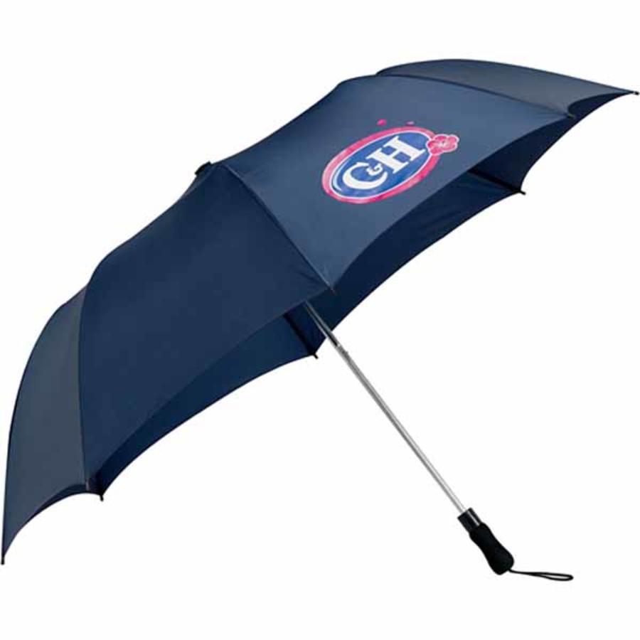 "Logo 58"" Folding Golf Umbrella"