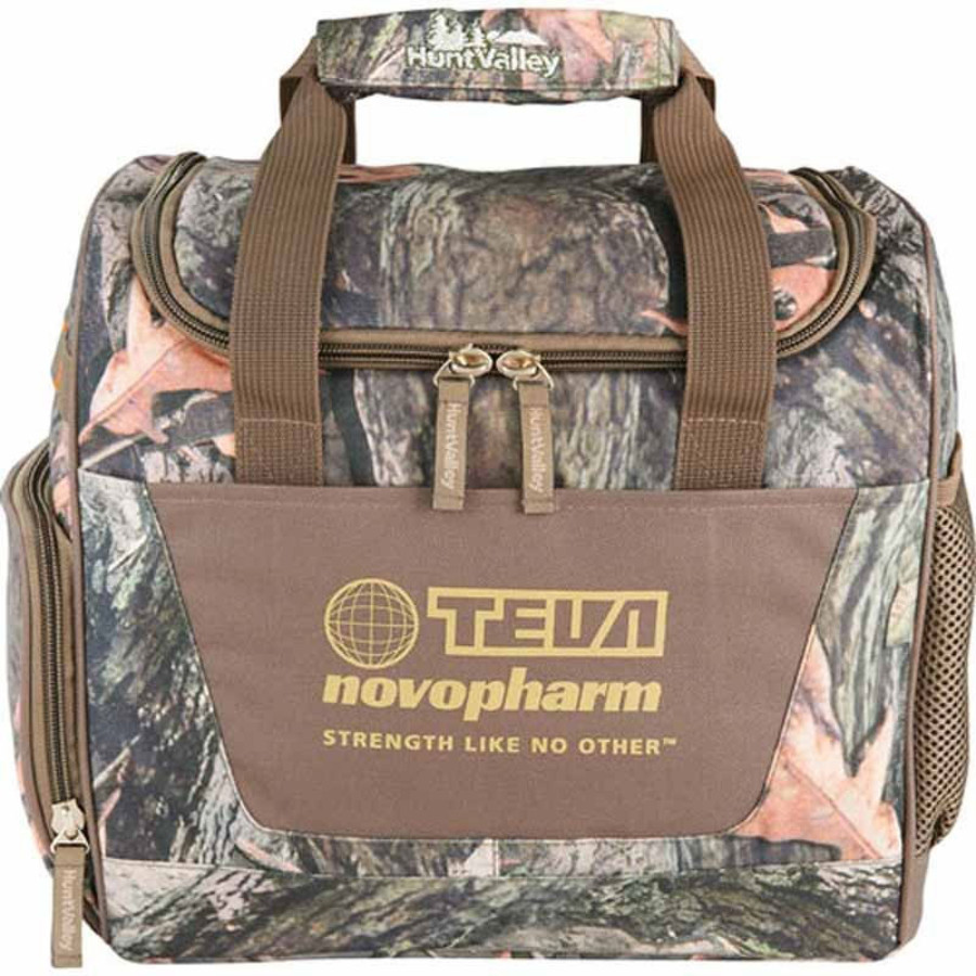 Logo Hunt Valley Camo Cooler Bag