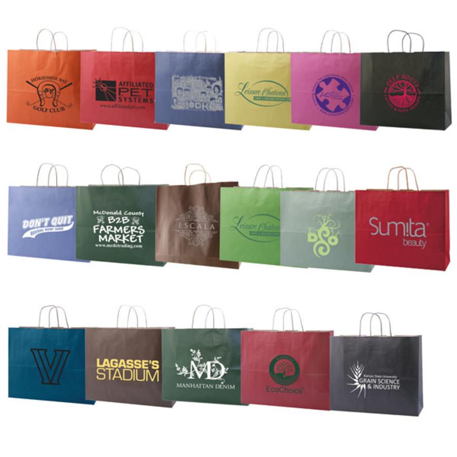 Logo-Tinted-Kraft-shopping-bags