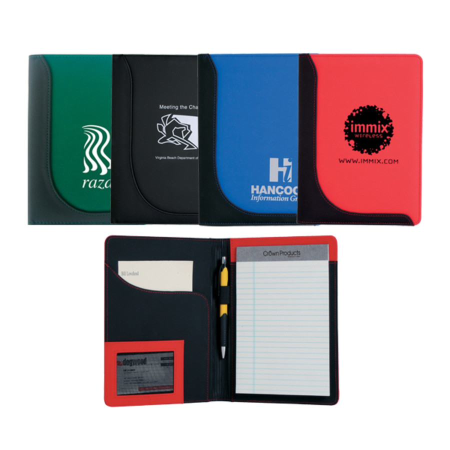 Monogrammed Jr. Executive L-Curve Padfolio