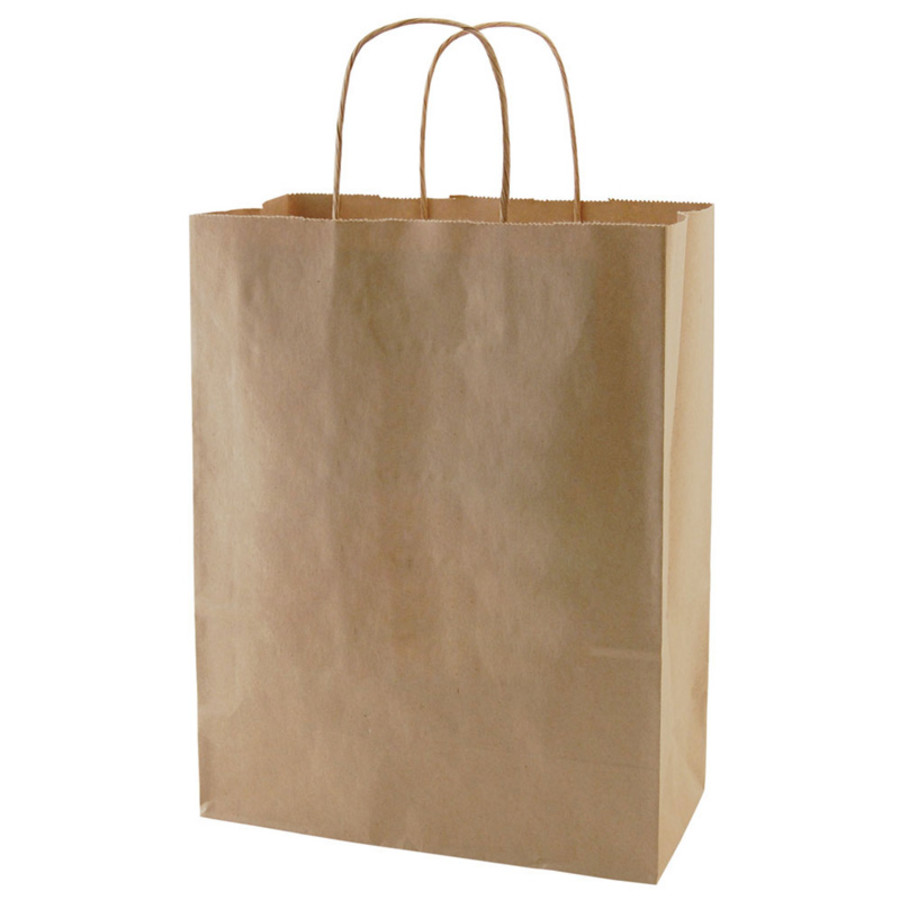 Printed Recycled Natural Kraft Bags