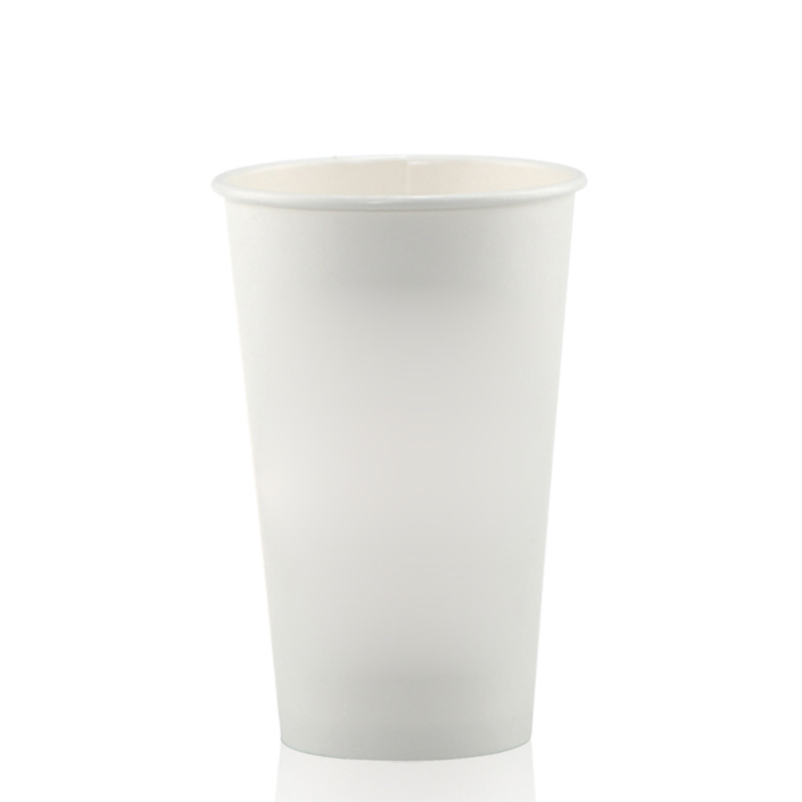 16 oz. White Paper Cups