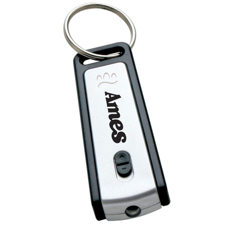 Personalized LED Light Keychain