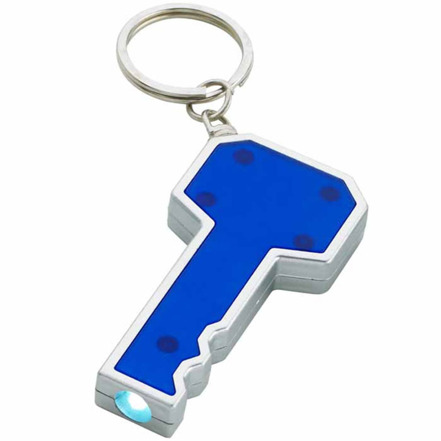 Promo Key Shape LED Key Chain