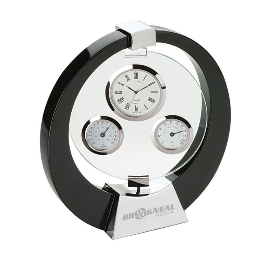 Promotional Desk Clock/Weather Station