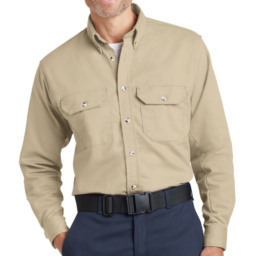 Bulwark EXCEL FR ComforTouch Dress Uniform Shirt (Apparel)