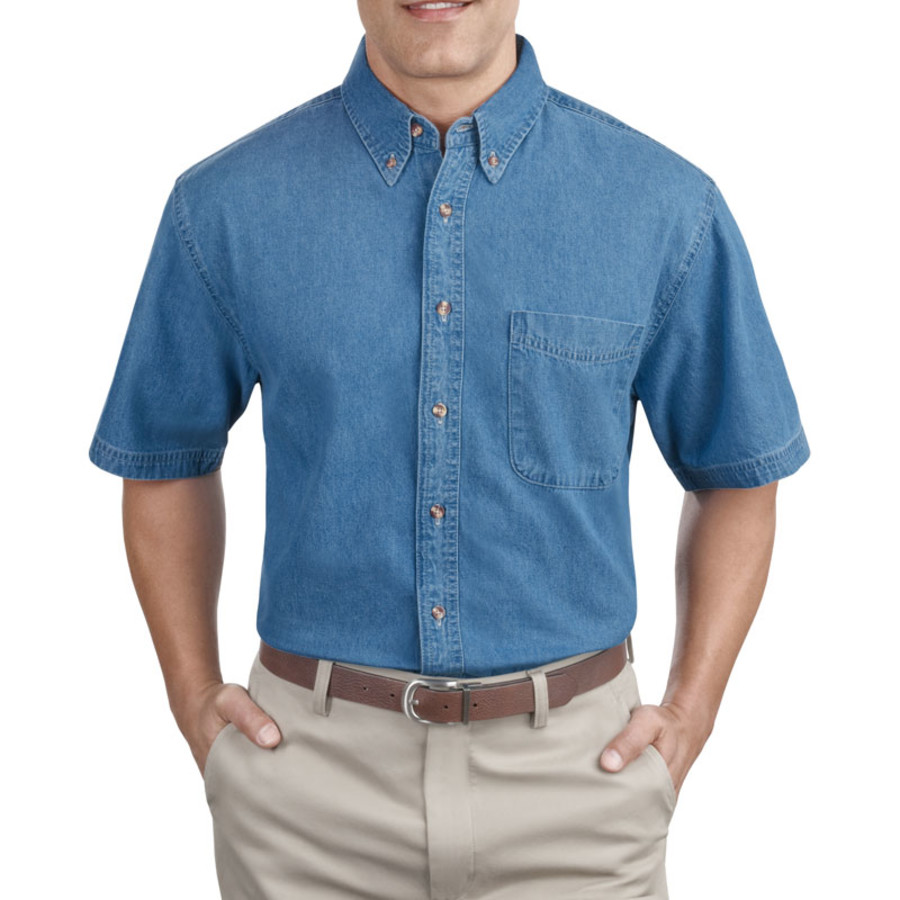 Port & Company - Short Sleeve Value Denim Shirt (Apparel)