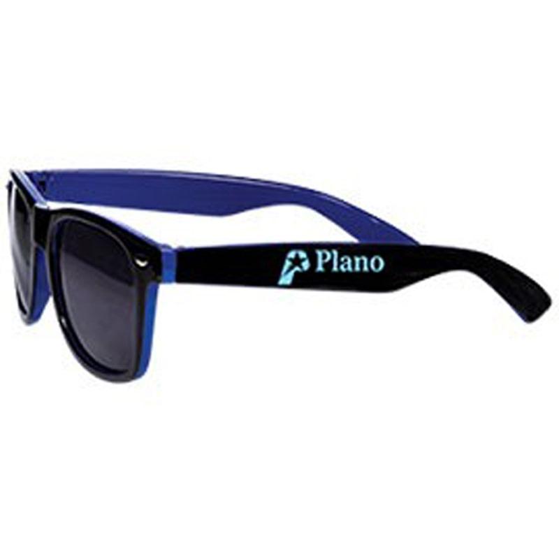 e901259b29d Two-tone Glossy Sunglasses