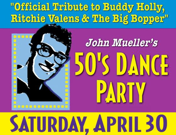 50's Dance Party - Official Tribute to Buddy Holly, Ritchie Valens & Big Bopper
