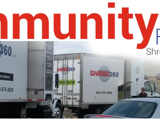 FREE COMMUNITY SHRED DAY With the Salvation Army (Conway)
