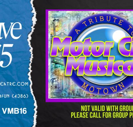 Save $5.00 to Any Show at GTS Theatre