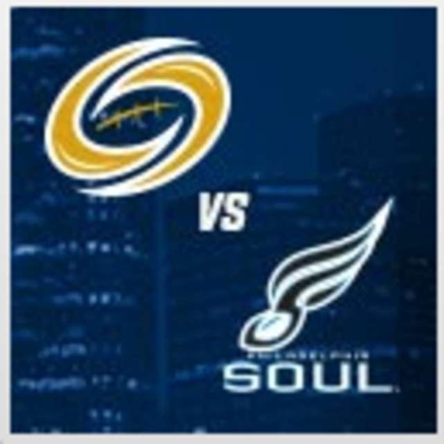 Tampa Bay Storm vs Philadelphia Soul