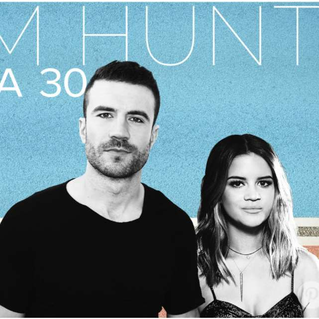 Sam Hunt with Maren Morris