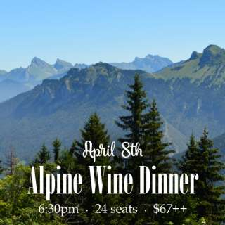 Alpine Wine Dinner