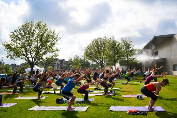 Breakfast Yoga Club Houston