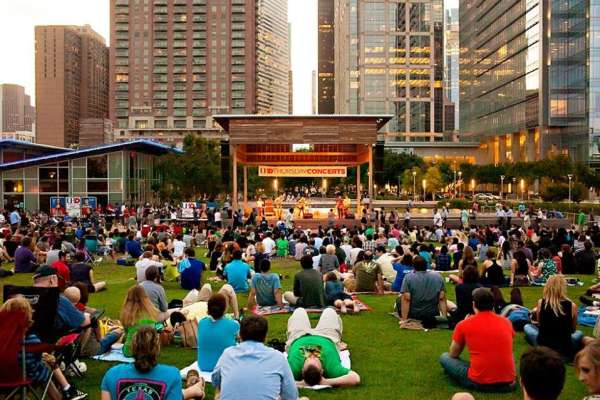 Family and Children Events at Discovery Green