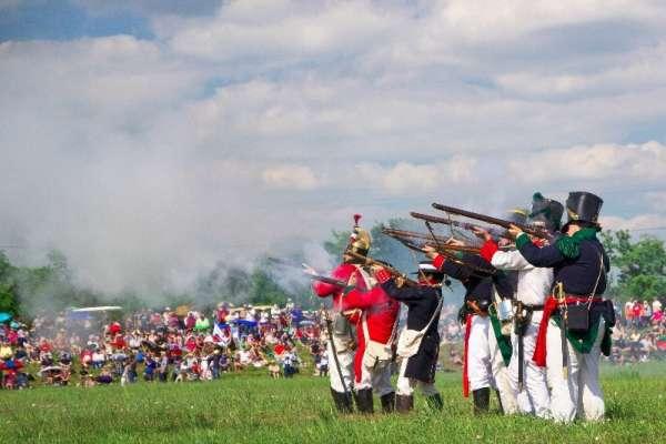 San Jacinto Day Festival & Battle Reenactment