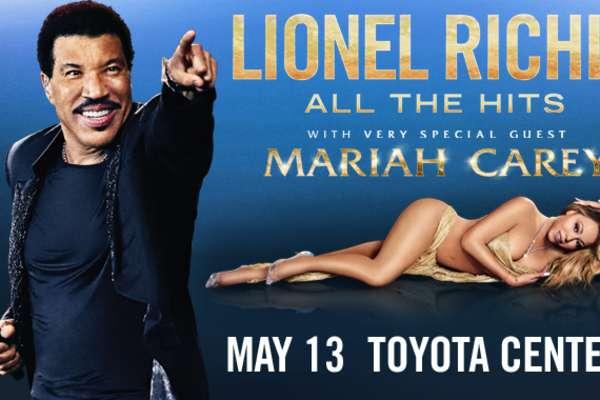 Lionel Richie y Mariah Carey en Concierto