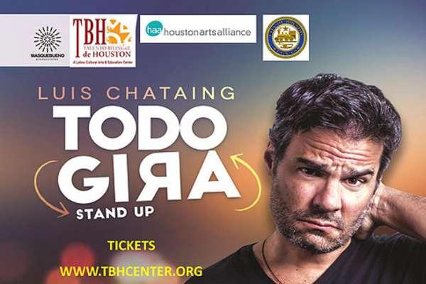 Luis Chataing en Talento Bilingüe de Houston